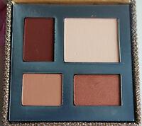 Tarte Prismatic Eye Color Enhancing Shadow Palette Brush Brown Blue Eyes NEW