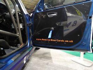2x FORD PUMA Lightweight Carbon Effect Door Card Panels * Track Race Car