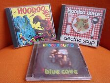 LOT 3 CD'S : HOODOO GURUS : STONEAGE ROMEOS + IN BLUE CAVE + SINGLES COLLECTION