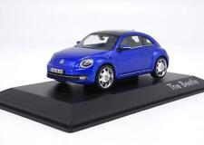 Schuco 1:43 VW Volkswagen The Beetle Blue Diecast Metal Model