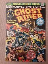 GHOST RIDER... MARVEL SPOTLIGHT #9. HIGHER GRADE!! VERY NICE!