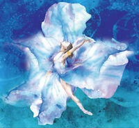 Art Watercolor Dancer Tapestry Wall Hanging Tapestry Boho Tapestry Home Decor