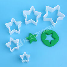 Cooking Decorating Sugarcraft Shiny Star Jelly Tool Fondant Cake Mould Plunge