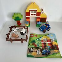 Lego Duplo My First Farm Set 6141 - Complete Set With Figures & Animals