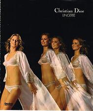 PUBLICITE ADVERTISING 045  1976  DIOR  lingerie sous vetements 2