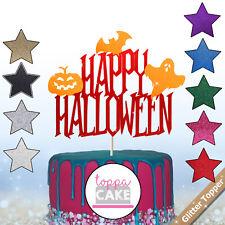 Halloween Cake Topper Design Centerpiece Attraction Pumpkin Bat Ghost Decors