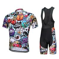 Funny Cycling Jersey Bib Short Set