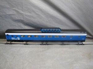 "K-Line O Scale Great Northern Aluminum 21"" Vista Dome Coach #1323 #6-22424"