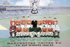 MAN UTD FOOTBALL TEAM PHOTO>1962-63 SEASON