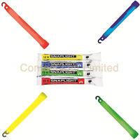 Red - Green - Yellow - Blue Snap Light Glow Sticks cyalume Outdoors Military