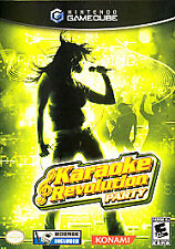 Karaoke Revolution Party (Nintendo GameCube, 2005) -Complete No Microphone