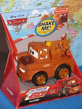 DISNEY PIXAR CARS 2  FISHER PRICE MATER SHAKE N GO ***BRAND NEW & RARE***