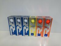 Mizuno RB566 Golf Balls 18 Balls White/yellow/orange / New