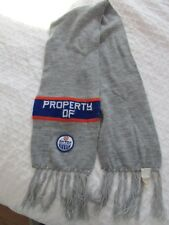 VINTAGE 1980'S PROPERTY OF EDMONTON OILERS SCARF HOCKEY NHL MODE MARQUESA