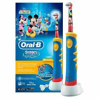 Oral-B Stages Power Kids Electric Toothbrush, Mickey Mouse Clubhouse Music Timer