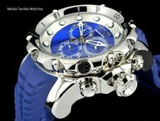 NEW Invicta 52MM Venom Sea Dragon Gen II Swiss Quartz BLUE Dial Blue Strap Watch