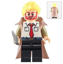 DC John Constantino Minifigura Demon Hunter TV Personalizado Mini Figura Ajusta Lego