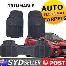 Auto Rubber Floor Mats x 3 For Holden Cruze Astra Against Abrasion Rain Water