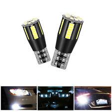2x T10 3014 LED Standlicht Canbus Fehlerfrei 39SMD Seitenlicht Lampe Weiß Birne