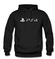 PS4 Playstation Gaming Men's Hoodie Pullover Adult Sizes S-2XL