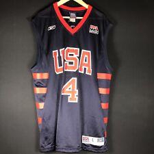 Nouveau Reebok tous Iverson Dream Team NBA Maillot Basket Jersey Jordan Kobe L