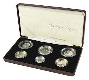 2006 Piedfort Coin Collection 6 coin Collection