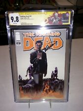 The Walking Dead #61 CGC 9.8 signed Kirkman first 1st appearance Father Gabriel