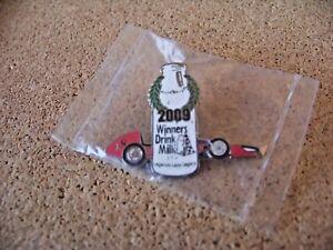 2009 Winners Drink Milk Legends Laps Legacy pin Indianapolis Motor Speedway logo