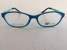GO i wear Eyewear Eyeglasses Mod GP96 47-14-130 D.Blue/L.Blue- Italian Design