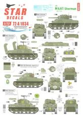 Star Decals 1/72 M4A1 Sherman Tank in Normandy & France 1944