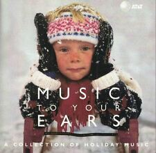 AT&T Music To Your Ears A Collection of Holiday Music CD 1997 Sony Music Special