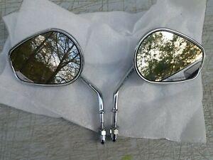 Harley Davidson chrome Mirrors Set Left & Right Part # I150007 L E11 001084