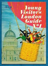 YOUNG VISITORS LONDON GUIDE NO. 1 P/B 1ST 1972 UNUSED STICKER TYPE BOOK