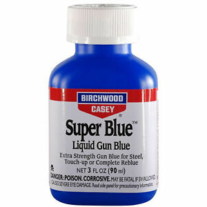 Birchwood Casey Super Blue Liquid Gun Blue 3oz - 13425
