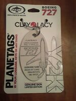 Boeing 727 Clay Lacy Y2K Aircraft Skin Plane Tag / Planetags - Free Shipping