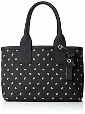 New Marc Jacobs $278 Embroidered Lemons on Black Canvas Weekender Tote Bag  ANB