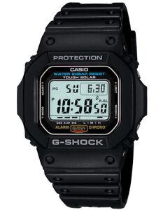 Casio G-Shock G-5600E-1 Classic Black Digital Watch Retro Sports Warranty G5600