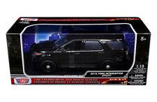MOTOR MAX 1:18 2015 FORD POLICE INTERCEPTOR UTILITY DIECAST CAR 73543
