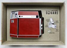 Lomo Instant Square Instant Camera Red Pigalle Edition Remote Splitzer Portrait