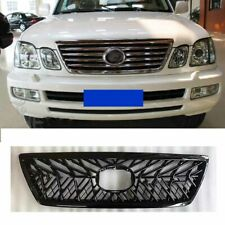 For Lexus LX470 Cyguns 2003-2007 Front Bumper Radiator Grille Grill ABS Black
