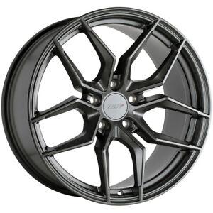"TSW Silvano 19x8.5 5x112 +42mm Gunmetal Wheel Rim 19"" Inch"