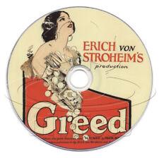 Greed (1924) Erich von Stroheim Drama/Thriller Film/Movie on DVD
