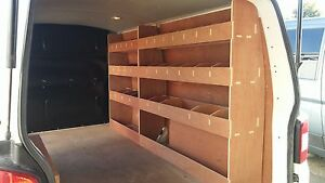 VW T6 NEW Transporter LWB Van Racking Plywood Shelving Storage Accessories tools