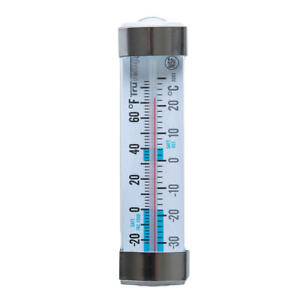 Taylor Refrigerator/Freezer Thermometer Analog Energy Saver