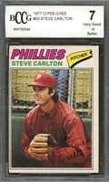 Steve Carlton Card 1977 O-Pee-Chee #93 Philadelphia Phillies BGS BCCG 7