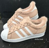ADIDAS SUPERSTAR BB6371 WOMENS  ROSE PINK BRUSHED LEATHER ALL SIZES NEW BOXED