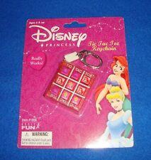 Disney Princess Tic Tac Toe Keychain Basic Fun MOC Retired
