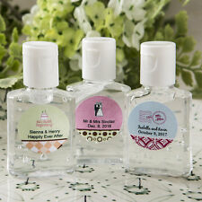 50 Personalized Hand Sanitizer Birthday Baby Party Wedding Favors