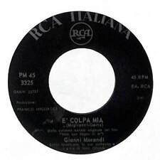 """Gianni Morandi - È Colpa Mia - Import - 7"""" Record Single"""