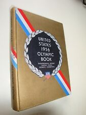 1956 OLYMPIC BOOK Melbourne Cortina, Pan Am Games, O'Brien, Russell, Kono, Heiss